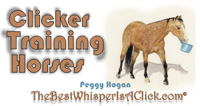 Clicker Training Horses site